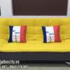 Sofa giường màu vàng đẹp