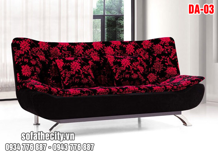 Sofa Bed Bông Đỏ