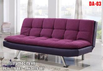 Sofa Bed Cao Cấp Màu Tím