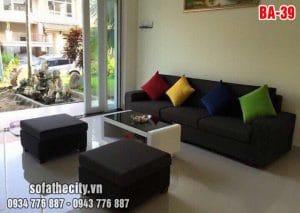 Sofa Băng Vuông Vức Đơn Giản