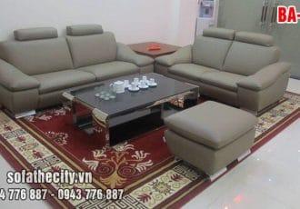 Sofa Băng Màu Xám Cho Không Gian Vừa Và Nhỏ