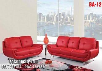 Sofa Băng Màu Đỏ Quyến Rũ