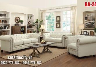 Sofa Băng Cổ Điển Tuyệt Đẹp Trọn Bộ