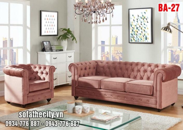 Sofa Cổ Điển Băng Và Đơn Màu Đẹp
