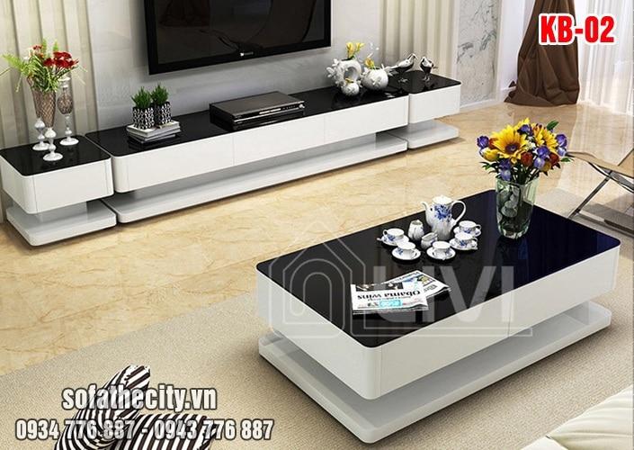 Combo Kệ Tivi – Bàn Sofa Siêu Đẹp - KB002