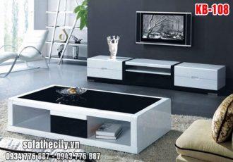 Combo Kệ Tivi – Bàn Sofa Mẫu Sang Trọng – KB108