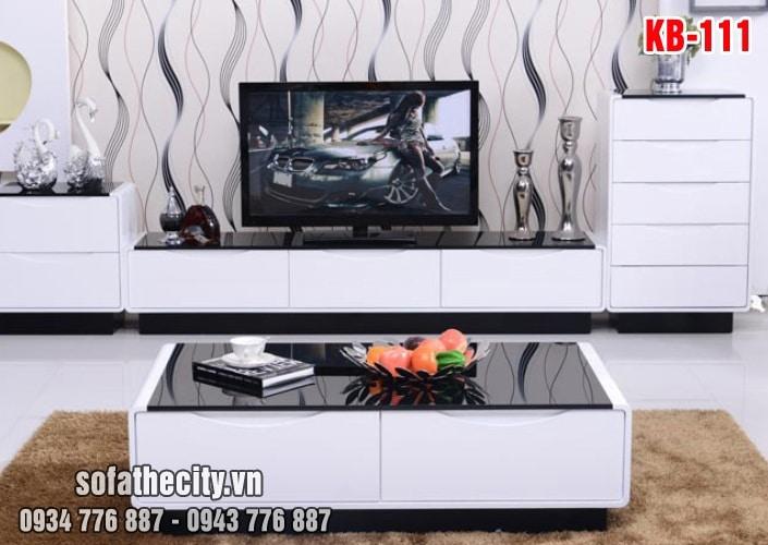 Combo Kệ Tivi – Bàn Sofa Cực Xinh - KB111
