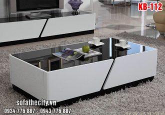Combo Kệ Tivi – Bàn Sofa Mẫu Mới – KB112