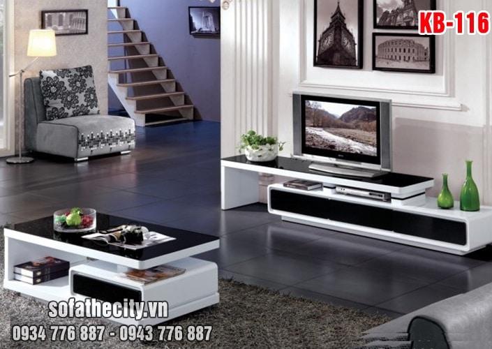 Combo Kệ Tivi - Bàn Sofa Cực Sang Chảnh - KB116