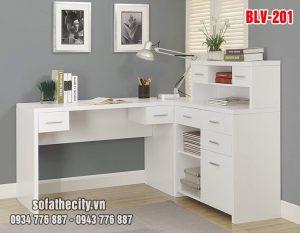 Bàn Làm Việc Mẫu Đẹp - BLV201