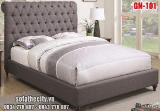 Giường Ngủ Ốp Nệm Cao Cấp GN101