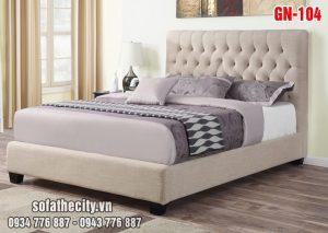Giường Ngủ Ốp Nệm Cao Cấp GN105