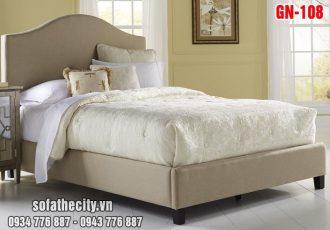 Giường Ngủ Ốp Nệm Cao Cấp GN108
