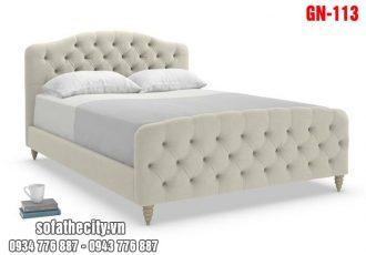 Giường Ngủ Ốp Nệm Cao Cấp GN113