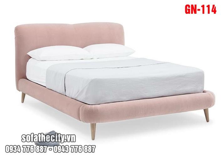 Giường Ngủ Ốp Nệm Cao Cấp GN114