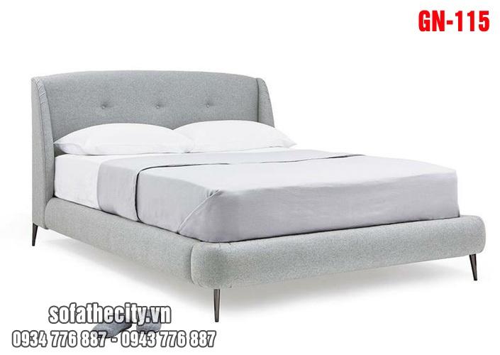 Giường Ngủ Ốp Nệm Cao Cấp GN115