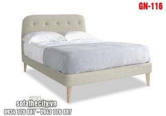 Giường Ngủ Ốp Nệm Cao Cấp GN116
