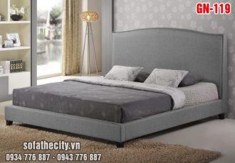 Giường Ngủ Ốp Nệm Cao Cấp GN119