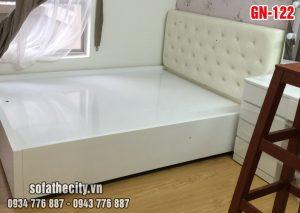 Giường Ngủ Ốp Nệm Cao Cấp GN122