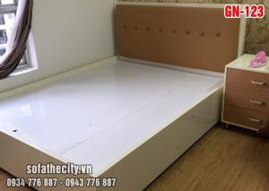 Giường Ngủ Ốp Nệm Cao Cấp GN123