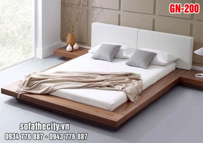 Giường Ngủ Kiểu Nhật Hiện Đại GN200