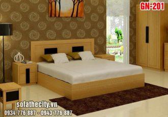 Giường Ngủ Kiểu Nhật Hiện Đại GN201