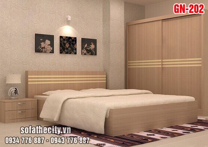Giường Ngủ Kiểu Nhật Hiện Đại GN202