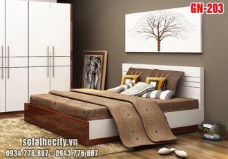 Giường Ngủ Kiểu Nhật Hiện Đại GN203