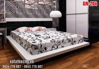 Giường Ngủ Kiểu Nhật Hiện Đại GN204