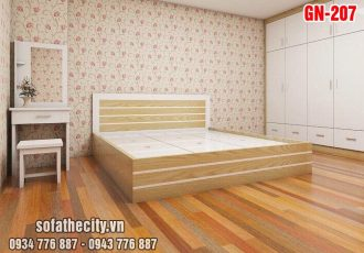 Giường Ngủ Kiểu Nhật Hiện Đại GN207