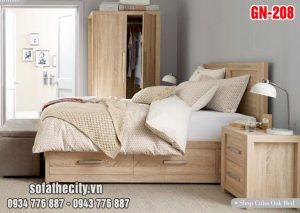 Giường Ngủ Kiểu Nhật Hiện Đại GN208