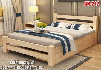 Giường Ngủ Kiểu Nhật Hiện Đại GN212