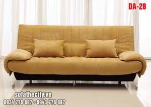 Sofa Giường Vải Bố Màu Mới
