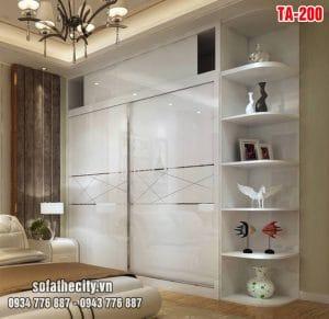 Tủ Quần Áo Cửa Lùa Mẫu Đẹp – TA200