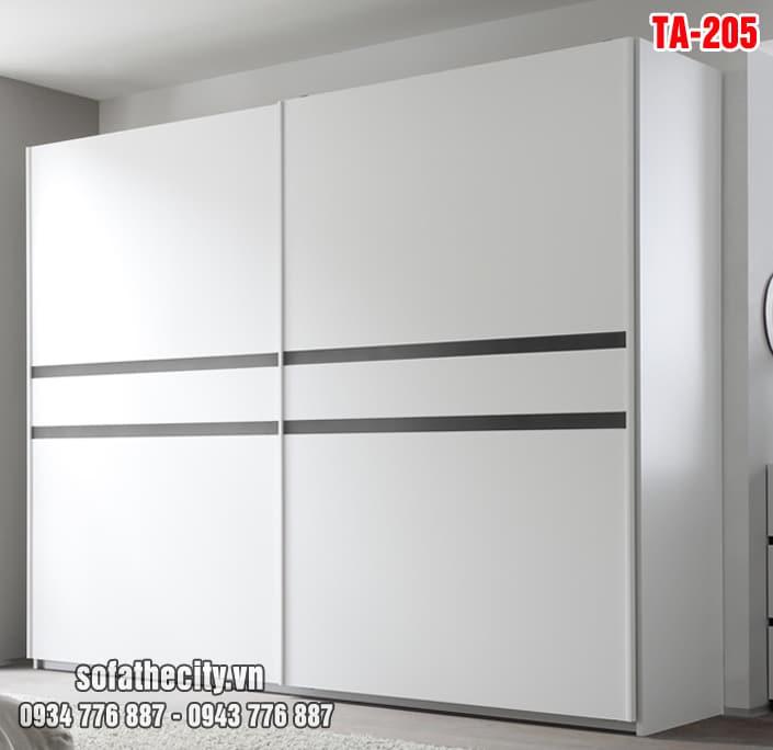 Tủ Quần Áo Cửa Lùa Mẫu Đẹp – TA205