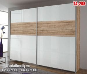 Tủ Quần Áo Cửa Lùa Mẫu Đẹp – TA208