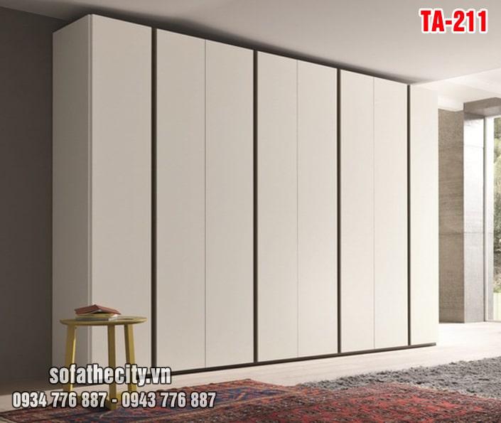 Tủ Quần Áo Cửa Lùa Mẫu Đẹp – TA211