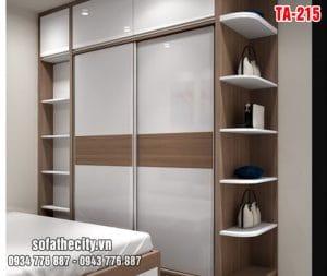 Tủ Quần Áo Cửa Lùa Mẫu Đẹp – TA215
