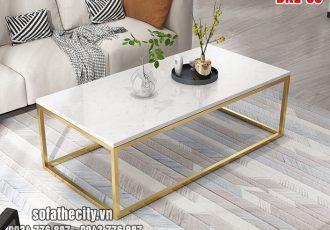 Bàn Sofa Inox Mạ Vàng Đẹp