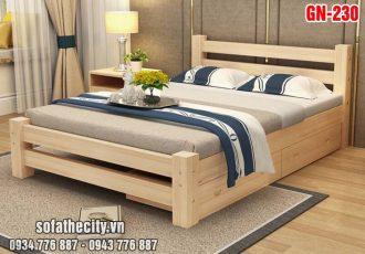 Giường Ngủ Kiểu Nhật Hiện Đại - GN230