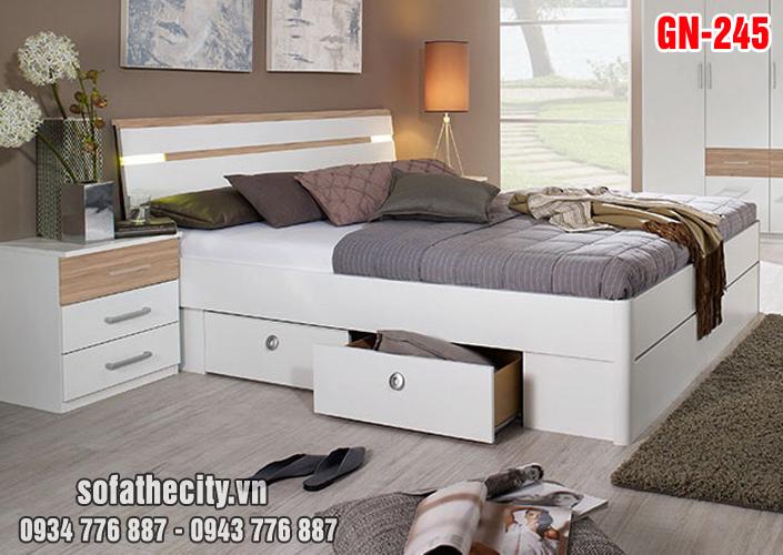 Giường Ngủ Kiểu Nhật Hiện Đại - GN245