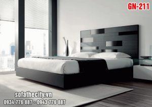 Giường Ngủ Kiểu Nhật Hiện Đại GN211