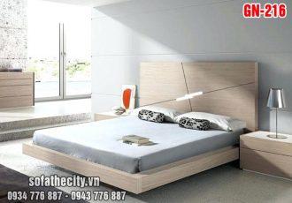 Giường Ngủ Kiểu Nhật Hiện Đại - GN216