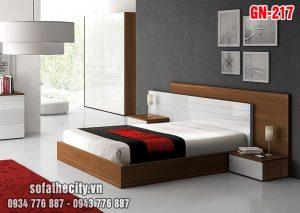 Giường Ngủ Kiểu Nhật Hiện Đại - GN217