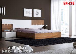 Giường Ngủ Kiểu Nhật Hiện Đại - GN218
