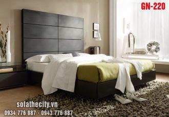 Giường Ngủ Kiểu Nhật Hiện Đại - GN220