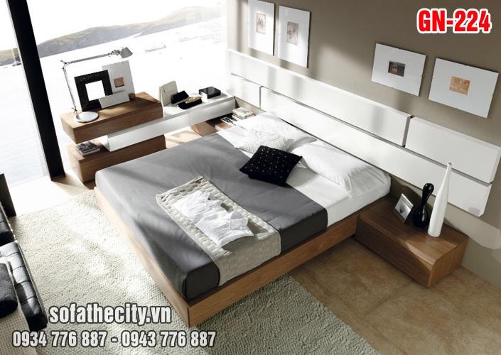 Giường Ngủ Kiểu Nhật Hiện Đại - GN224