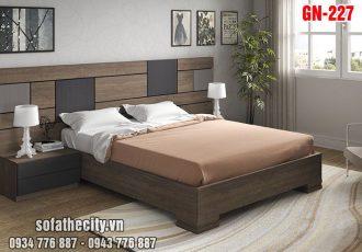 Giường Ngủ Kiểu Nhật Hiện Đại - GN227