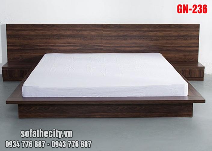 Giường Ngủ Kiểu Nhật Hiện Đại - GN236