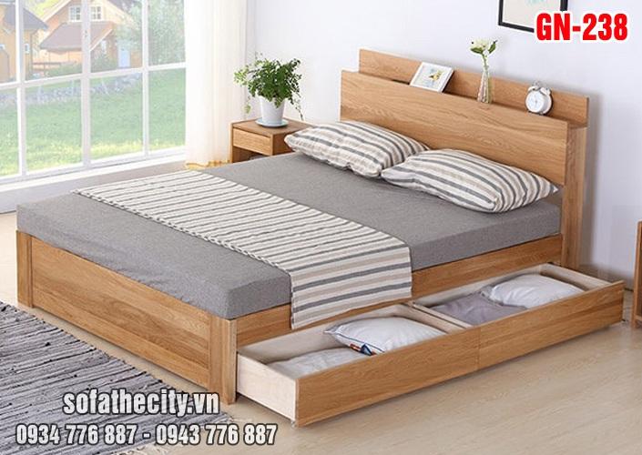 Giường Ngủ Kiểu Nhật Hiện Đại - GN238